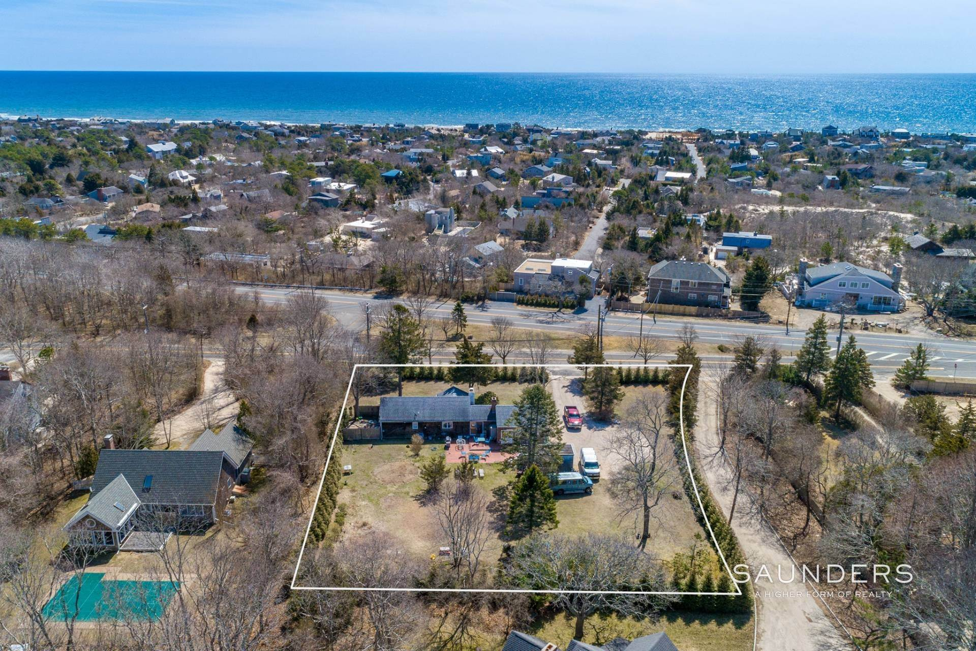 Multi-Family Homes for Sale at Development Opportunity In Amagansett 5 Cranberry Hole Road, Amagansett, East Hampton Town, NY 11930