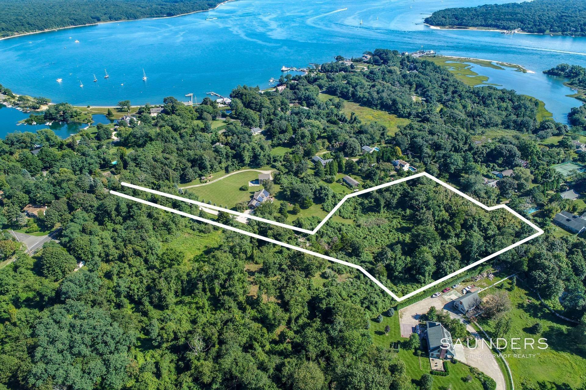 Land for Sale at Shelter Island Acreage Bordering Horse Farm 104 South Ferry Road, Shelter Island, NY 11964