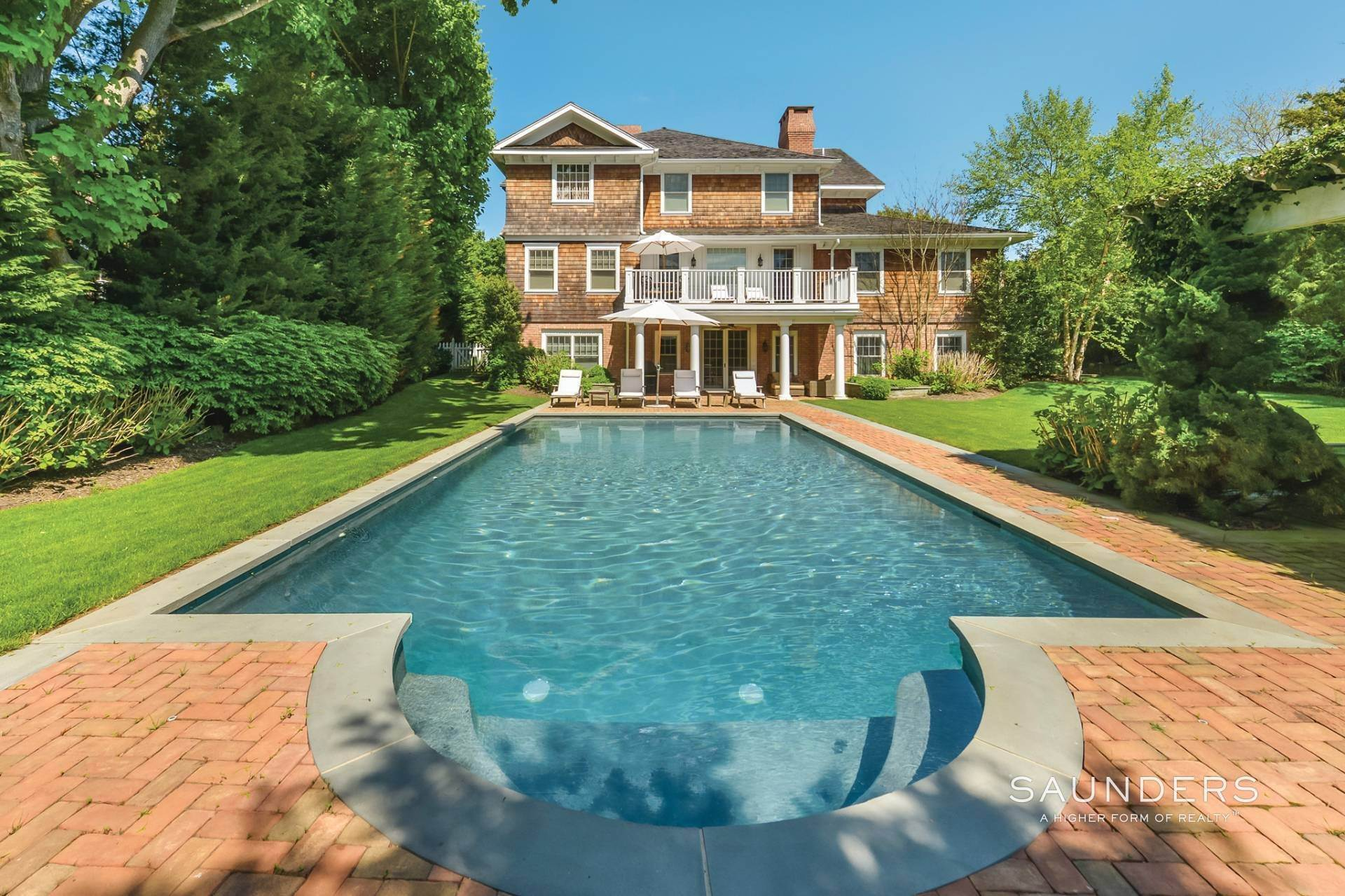 Single Family Homes at Magnificent Southampton Village Estate Section Rental 45 Captains Neck Lane, Southampton, Southampton Town, NY 11968