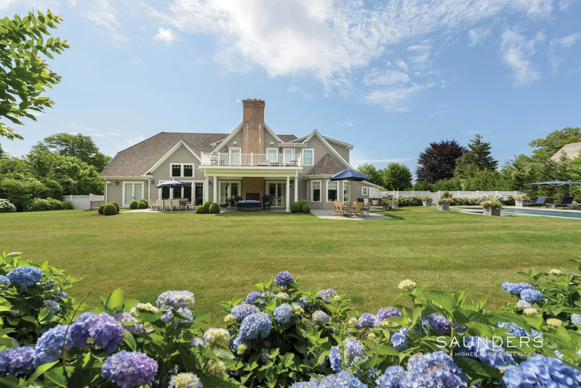 Single Family Homes for Sale at Pristine Shingled Traditional In Bridgehampton South Bridgehampton, Southampton Town, NY 11976