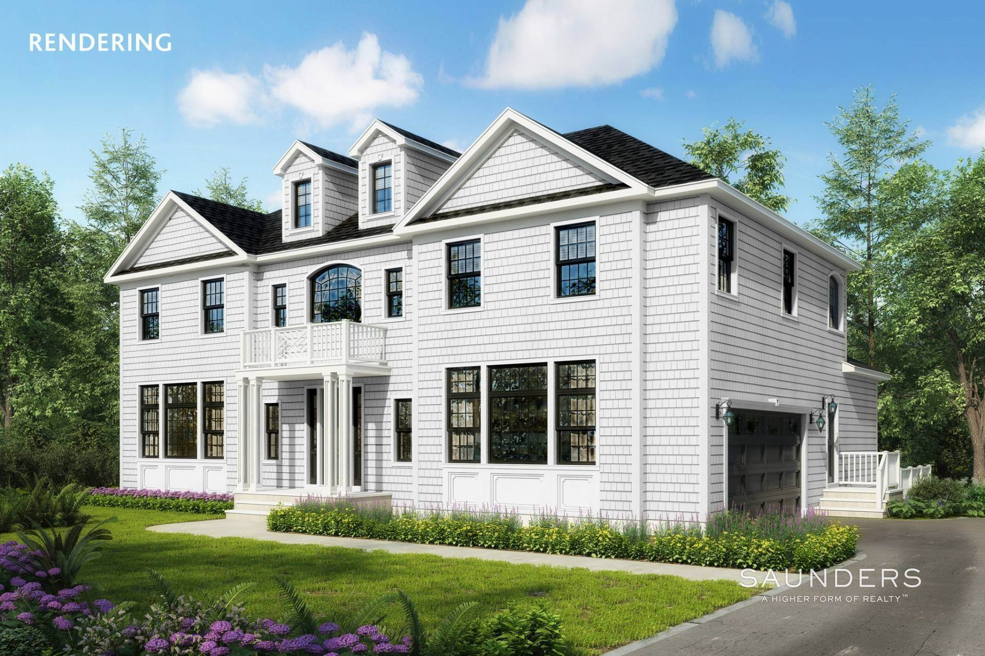 Single Family Homes for Sale at New Construction With Winter Water Views 4 Scotch Mist Lane, Southampton, Southampton Town, NY 11968