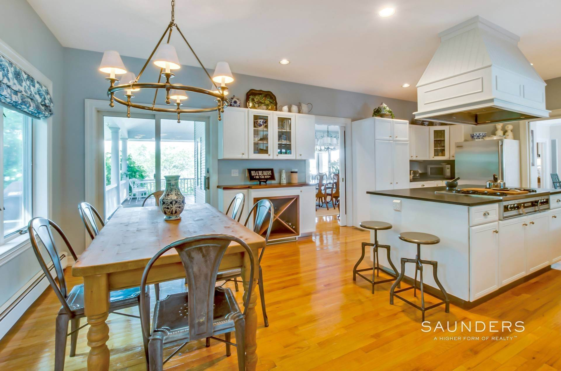 7. Single Family Homes for Sale at Estate Section Compound With Deep Water Dock, Sandy Beach, Pool 58 Westmoreland Drive, Shelter Island Heights, Shelter Island, NY 11964