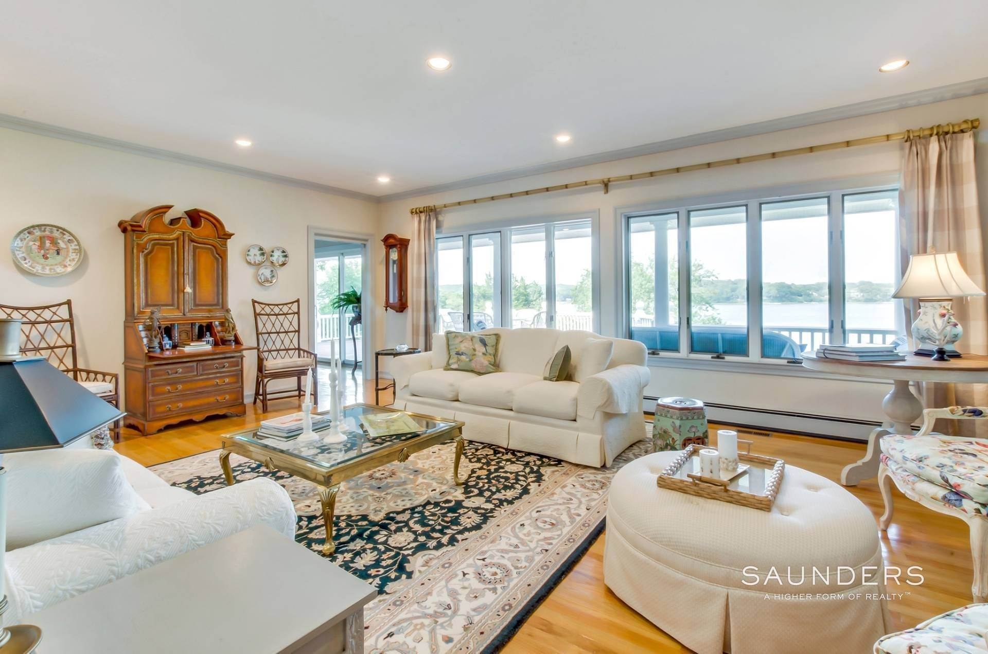 5. Single Family Homes for Sale at Estate Section Compound With Deep Water Dock, Sandy Beach, Pool 58 Westmoreland Drive, Shelter Island Heights, Shelter Island, NY 11964