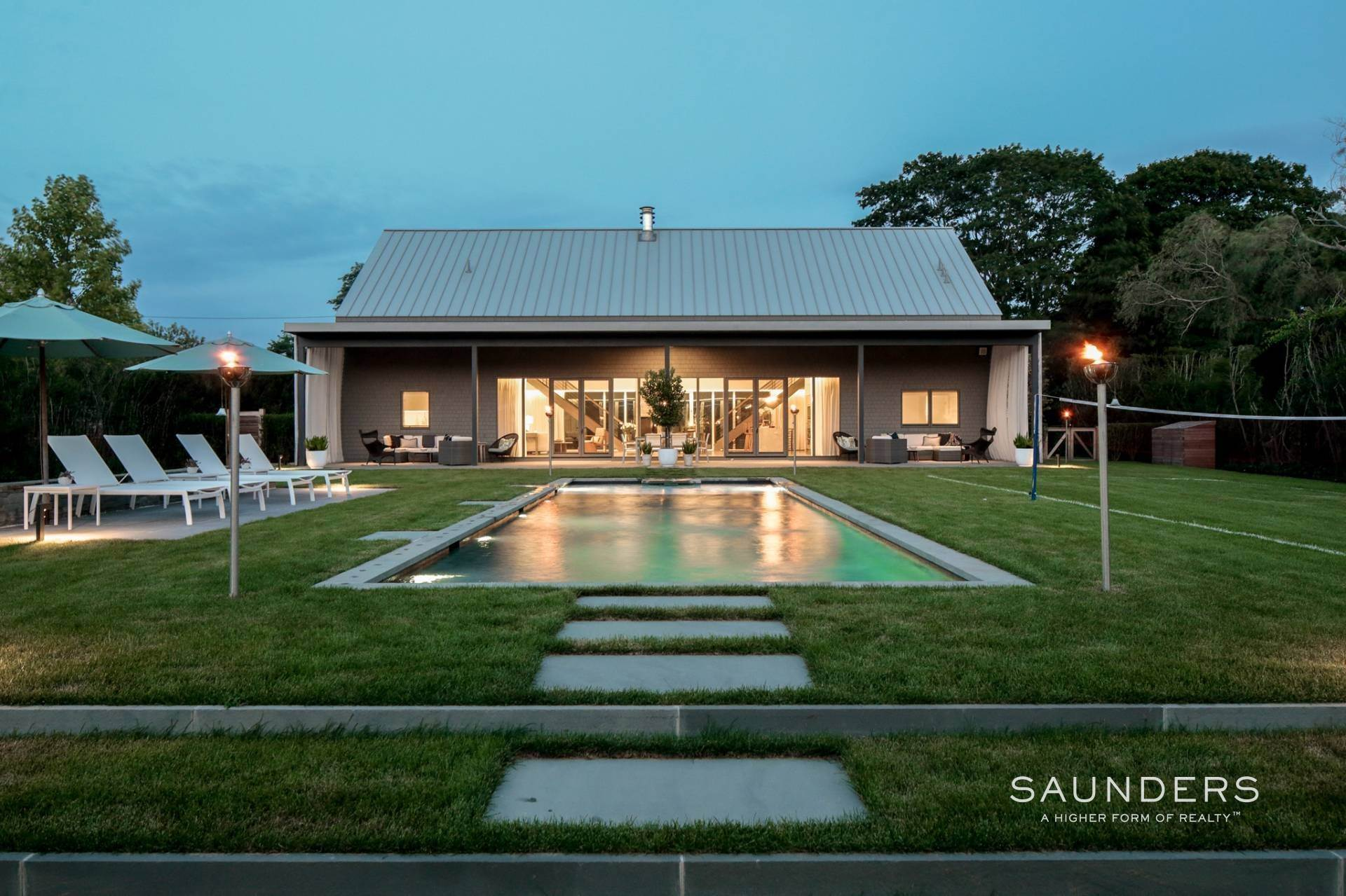 Single Family Homes at Newly Constructed Modern Masterpiece In The Village Southampton, Southampton Town, NY 11968