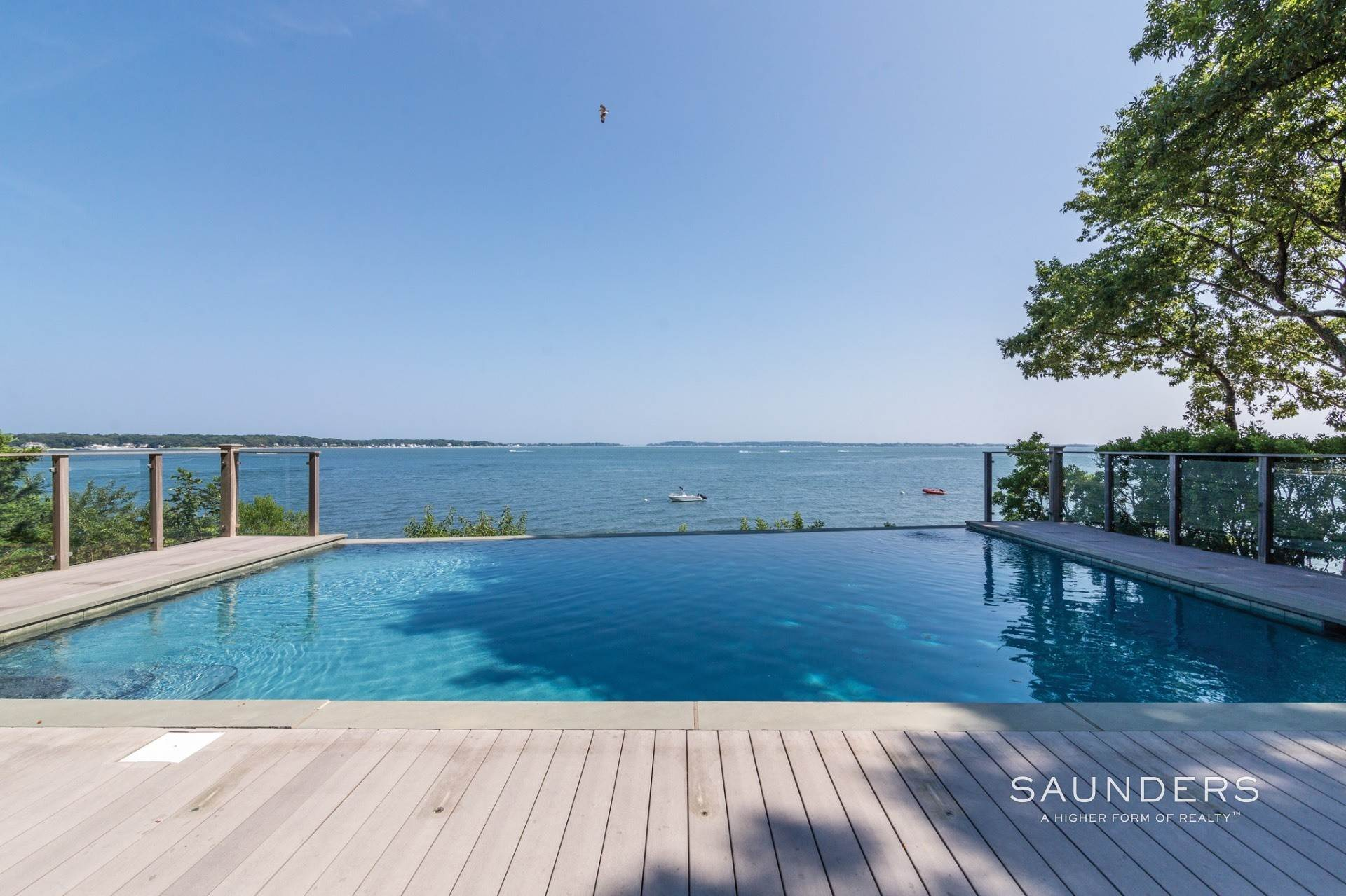 2. Single Family Homes for Sale at Shelter Island Bayfront With Infinity Edge Pool And Sandy Beach 17 Point Lane, Shelter Island Heights, Shelter Island, NY 11964