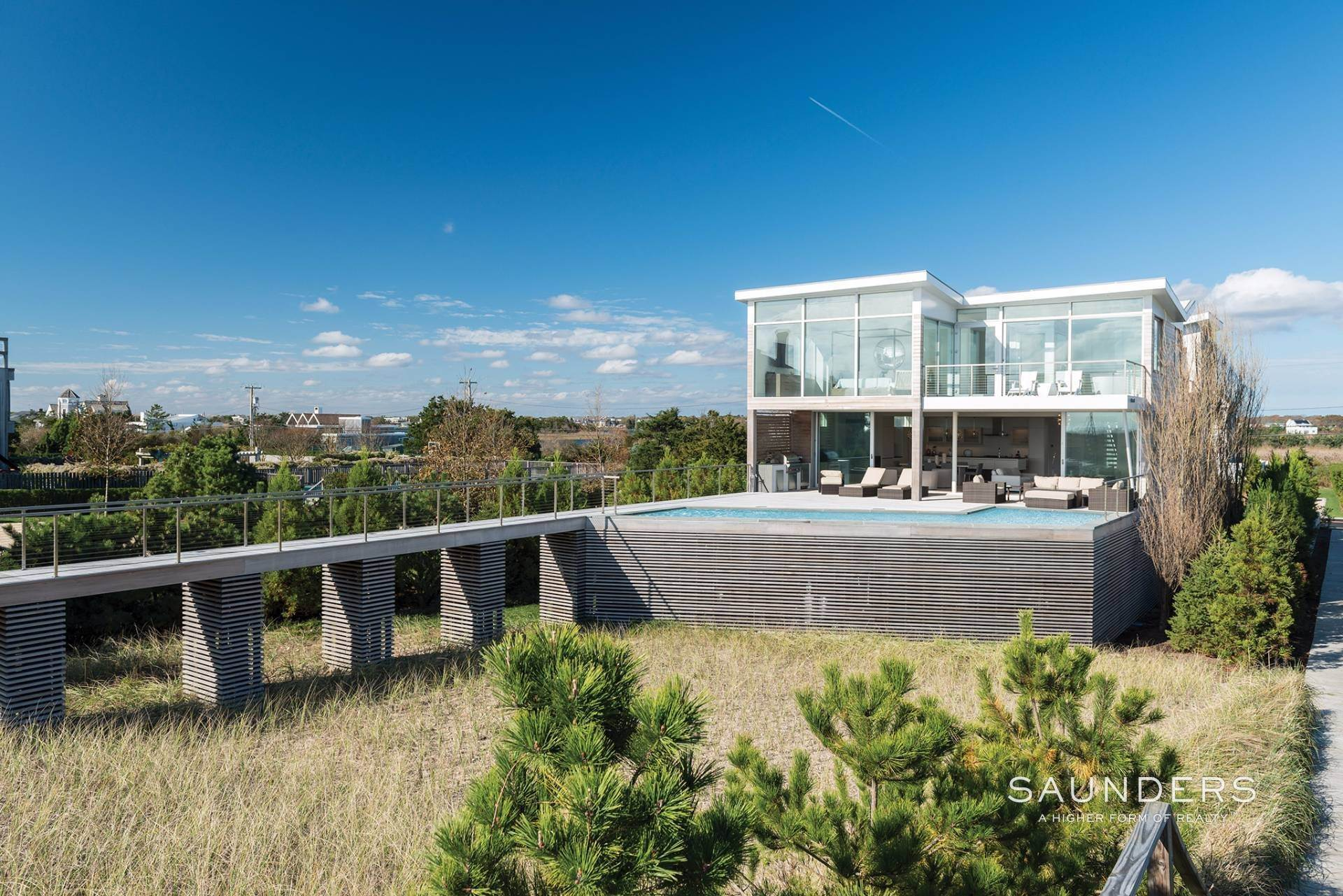 2. Single Family Homes for Sale at Modern Oceanfront Masterpiece 'Between The Bridges' Westhampton Beach Village, Southampton Town, NY 11968