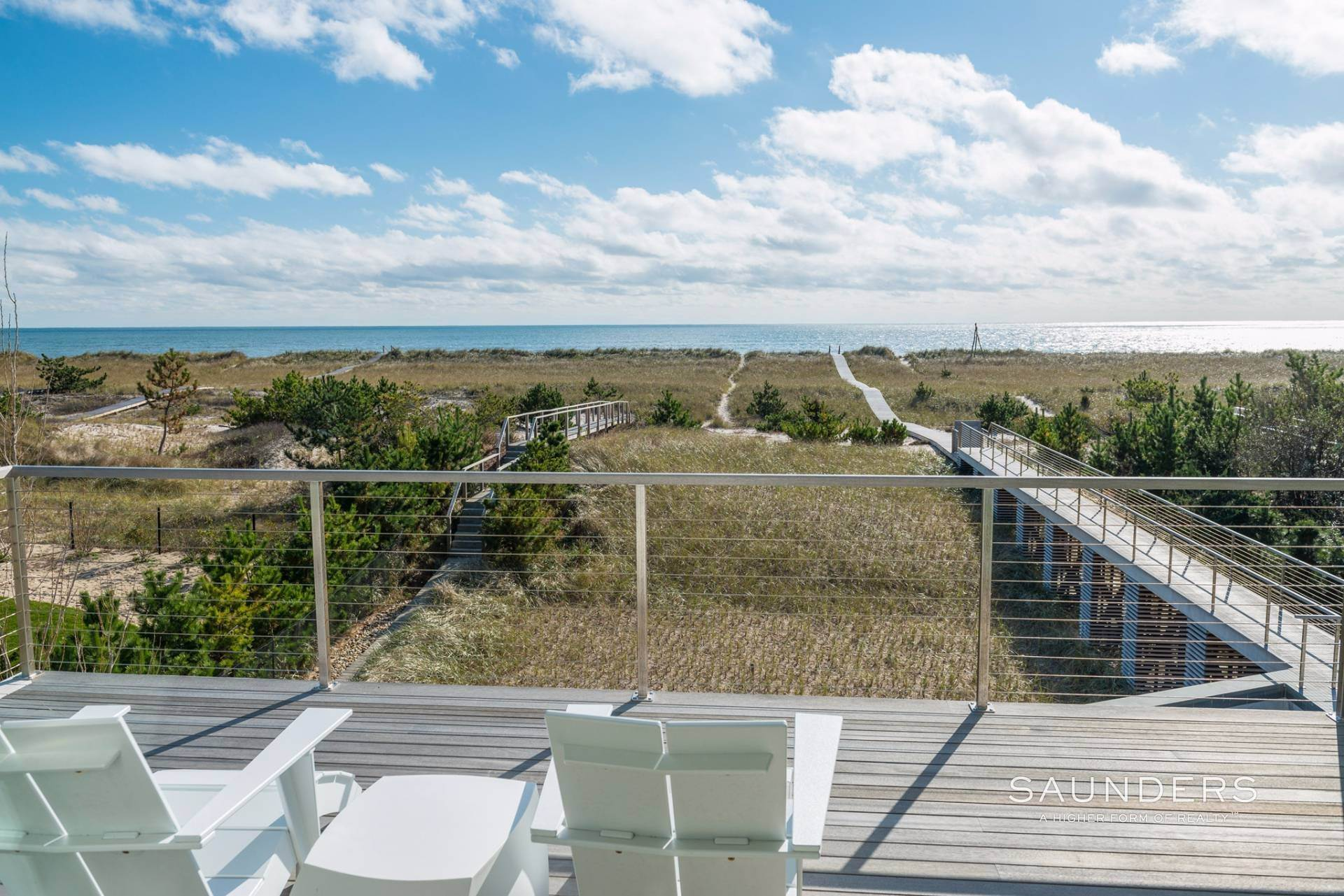16. Single Family Homes for Sale at Modern Oceanfront Masterpiece 'Between The Bridges' Westhampton Beach Village, Southampton Town, NY 11968