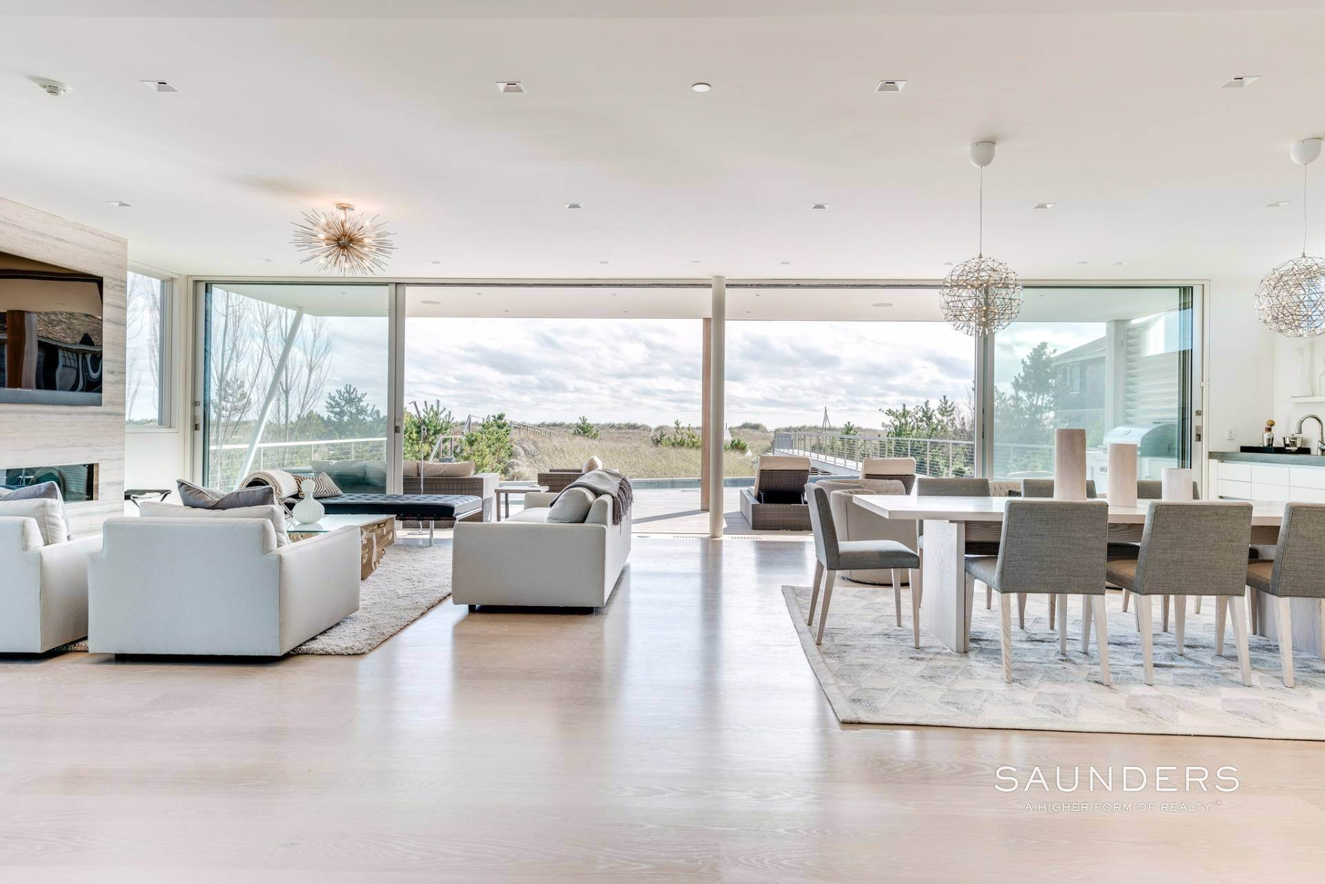 6. Single Family Homes for Sale at Modern Oceanfront Masterpiece 'Between The Bridges' Westhampton Beach Village, Southampton Town, NY 11968