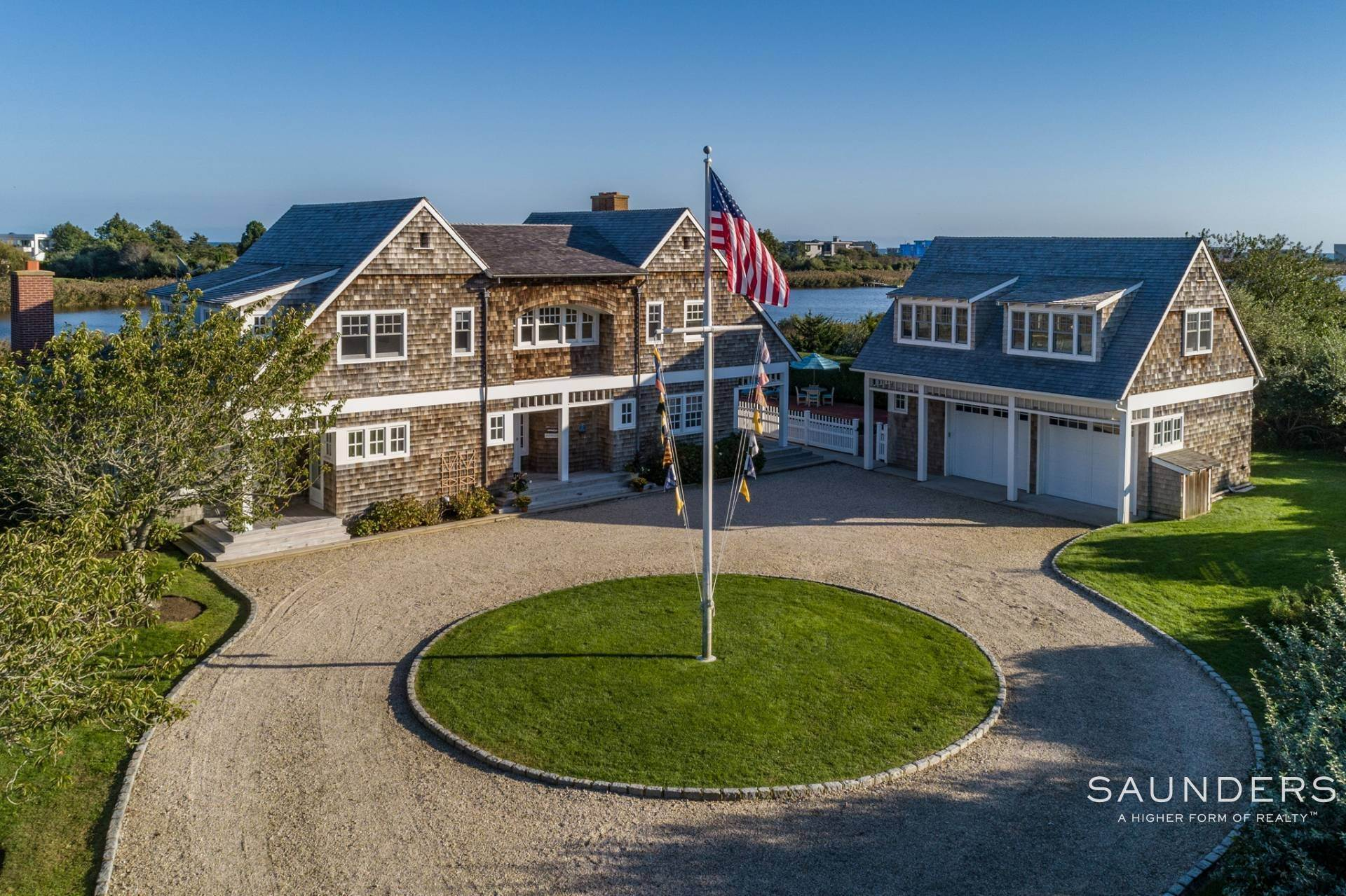 2. Single Family Homes for Sale at Bridgehampton South Waterfront With Dock & Ocean View 87 Rose Way, Bridgehampton, Southampton Town, NY 11932