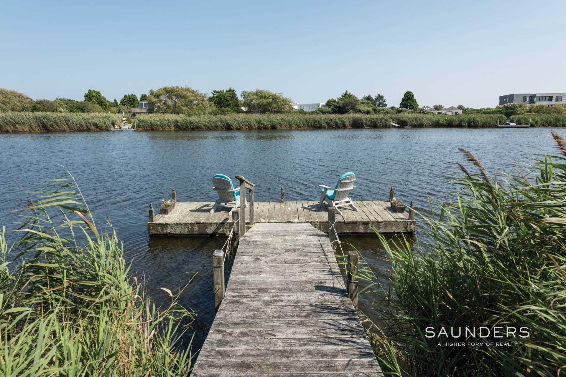 24. Single Family Homes for Sale at Bridgehampton South Waterfront With Dock & Ocean View 87 Rose Way, Bridgehampton, Southampton Town, NY 11932