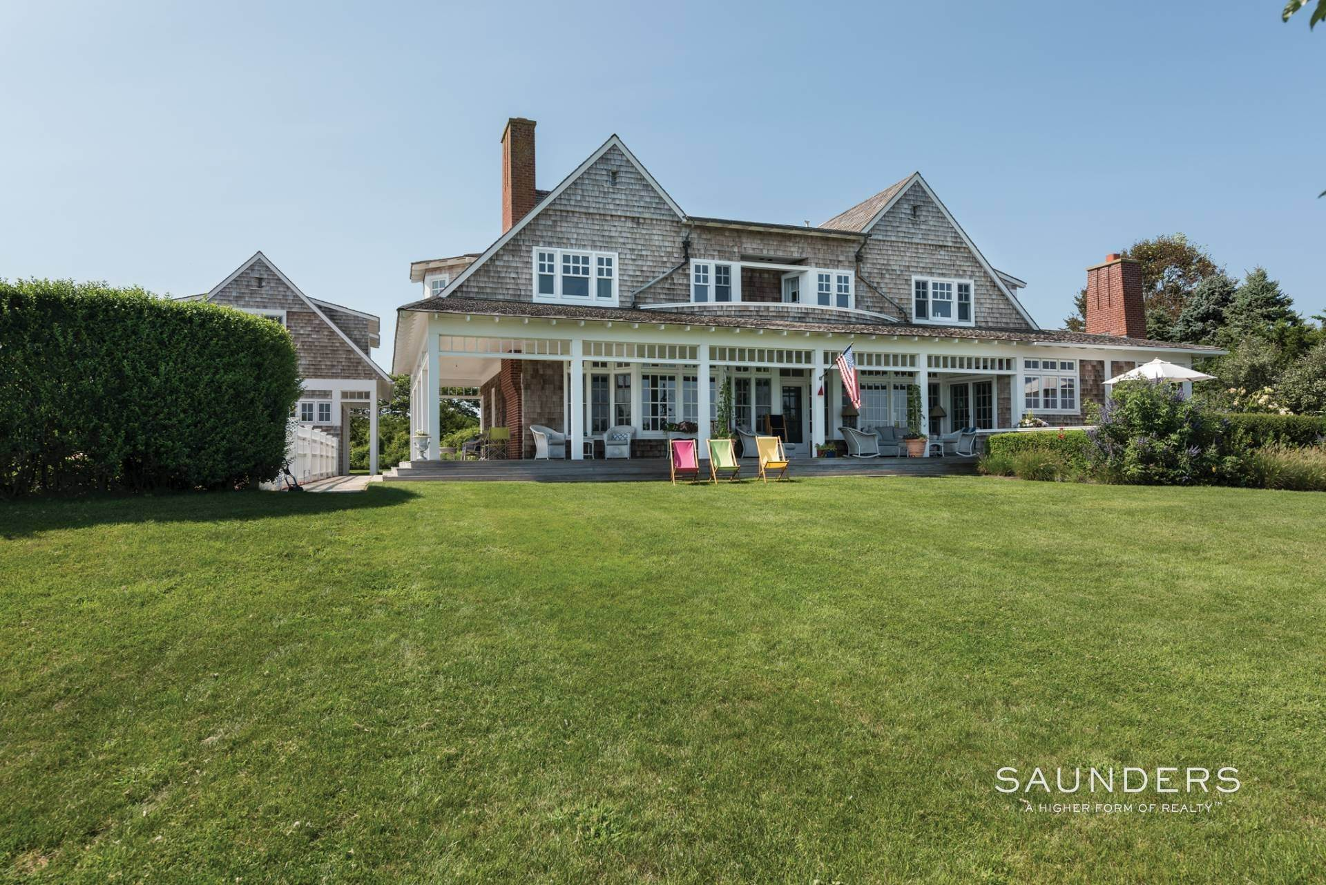 23. Single Family Homes for Sale at Bridgehampton South Waterfront With Dock & Ocean View 87 Rose Way, Bridgehampton, Southampton Town, NY 11932