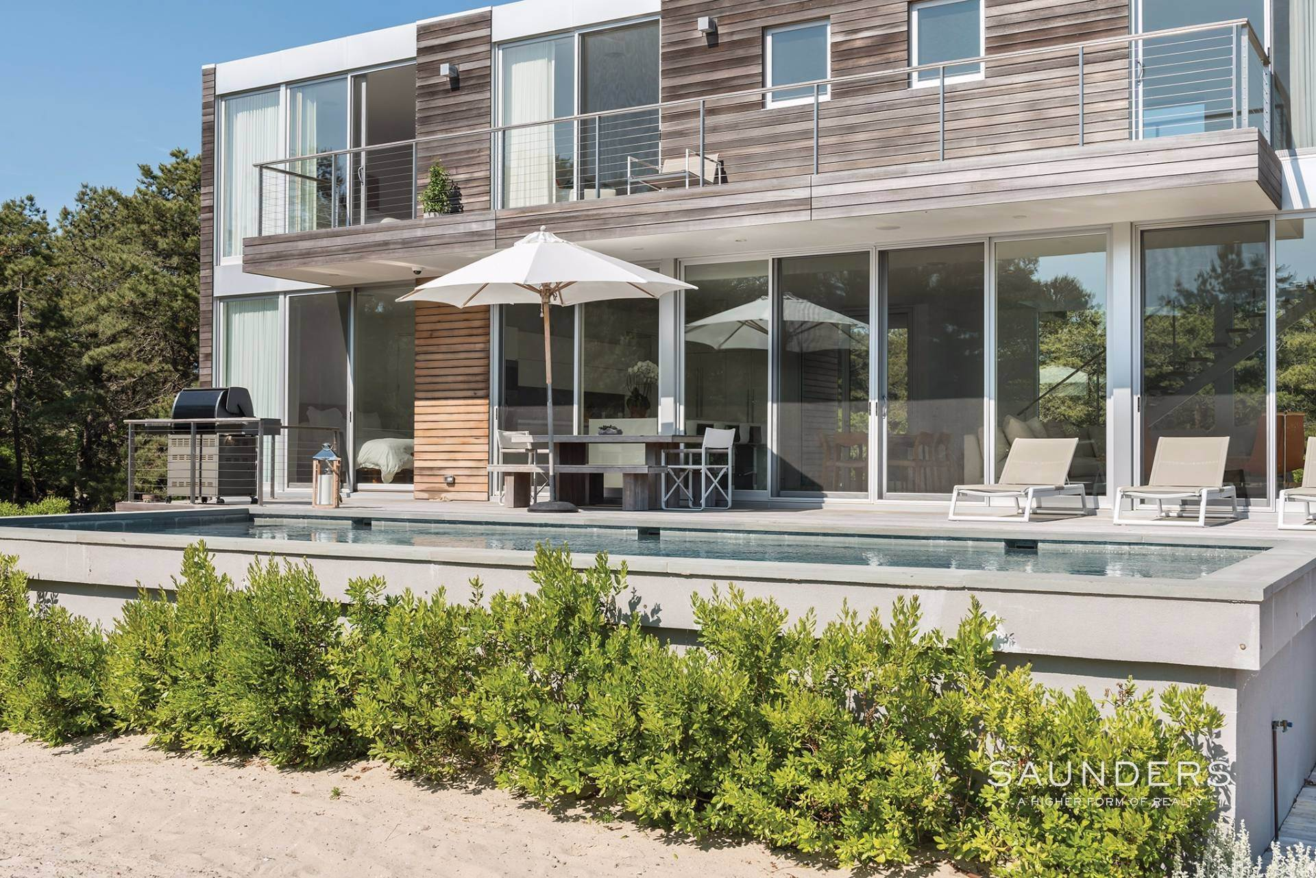 3. Single Family Homes at Private Modern In Amagansett Dunes Napeague, East Hampton Town, NY 11930