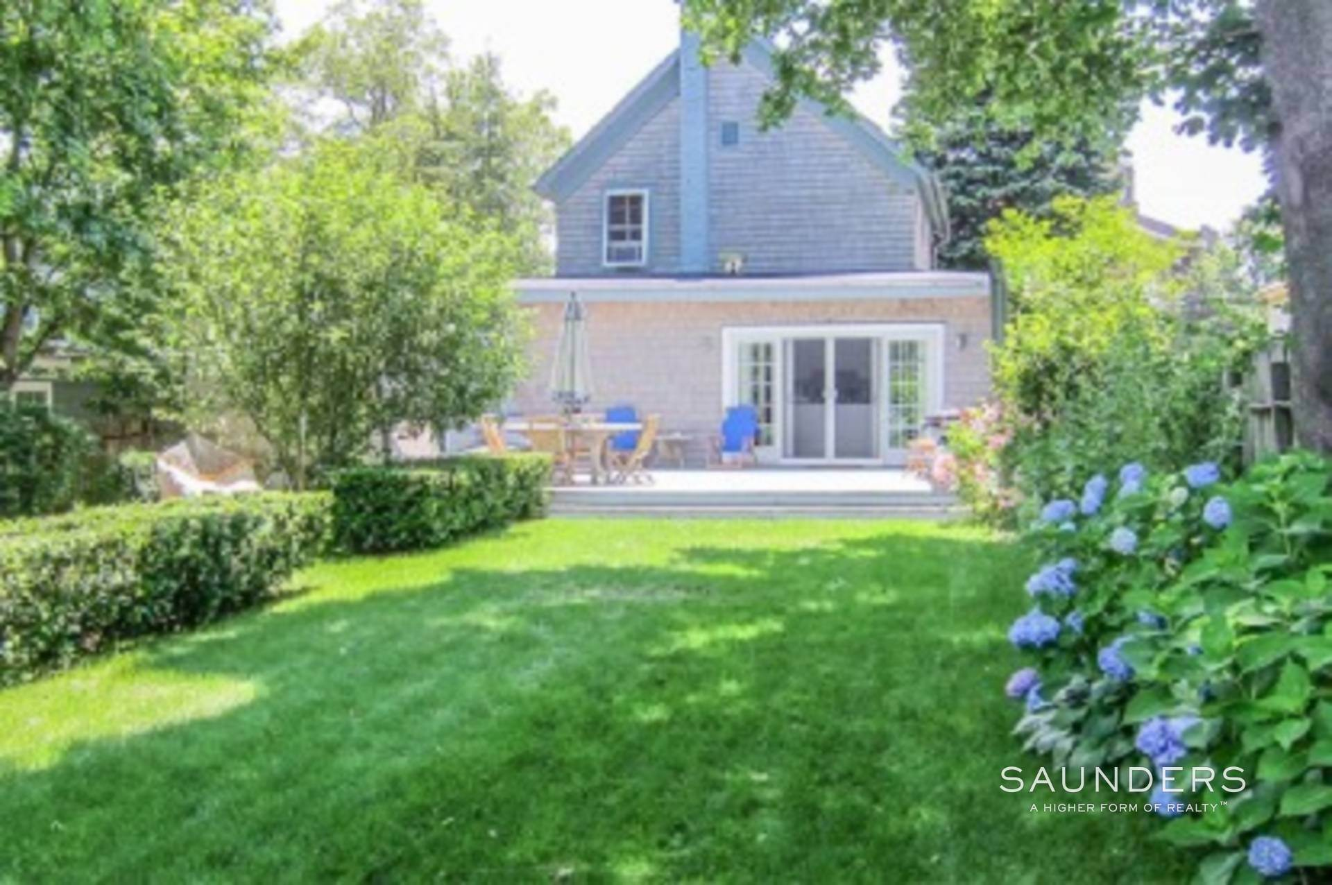 Single Family Homes for Sale at Central Village Charmer Sag Harbor, Southampton Town, NY 11963