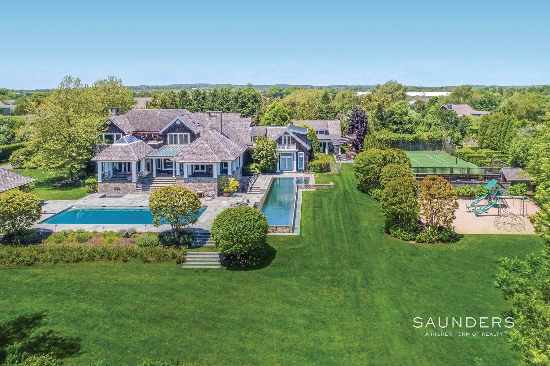 Single Family Homes for Sale at Water Mill South Estate With Resort Amenities 34 Cobb Hill Lane, Water Mill, Southampton Town, NY 11976