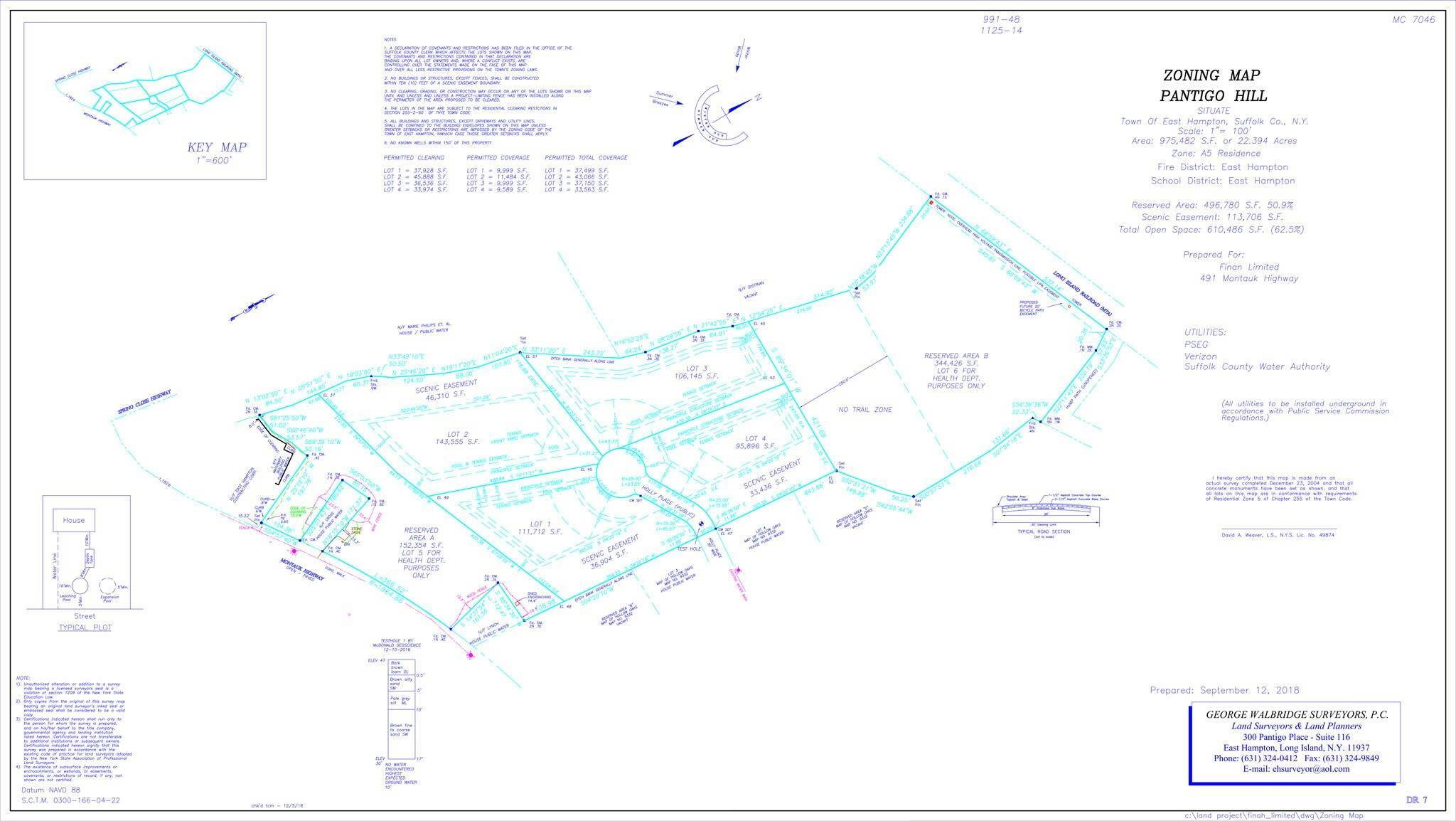 Land for Sale at Rare 4-Lot Development Opportunity 491 Pantigo Road, East Hampton, East Hampton Town, NY 11937