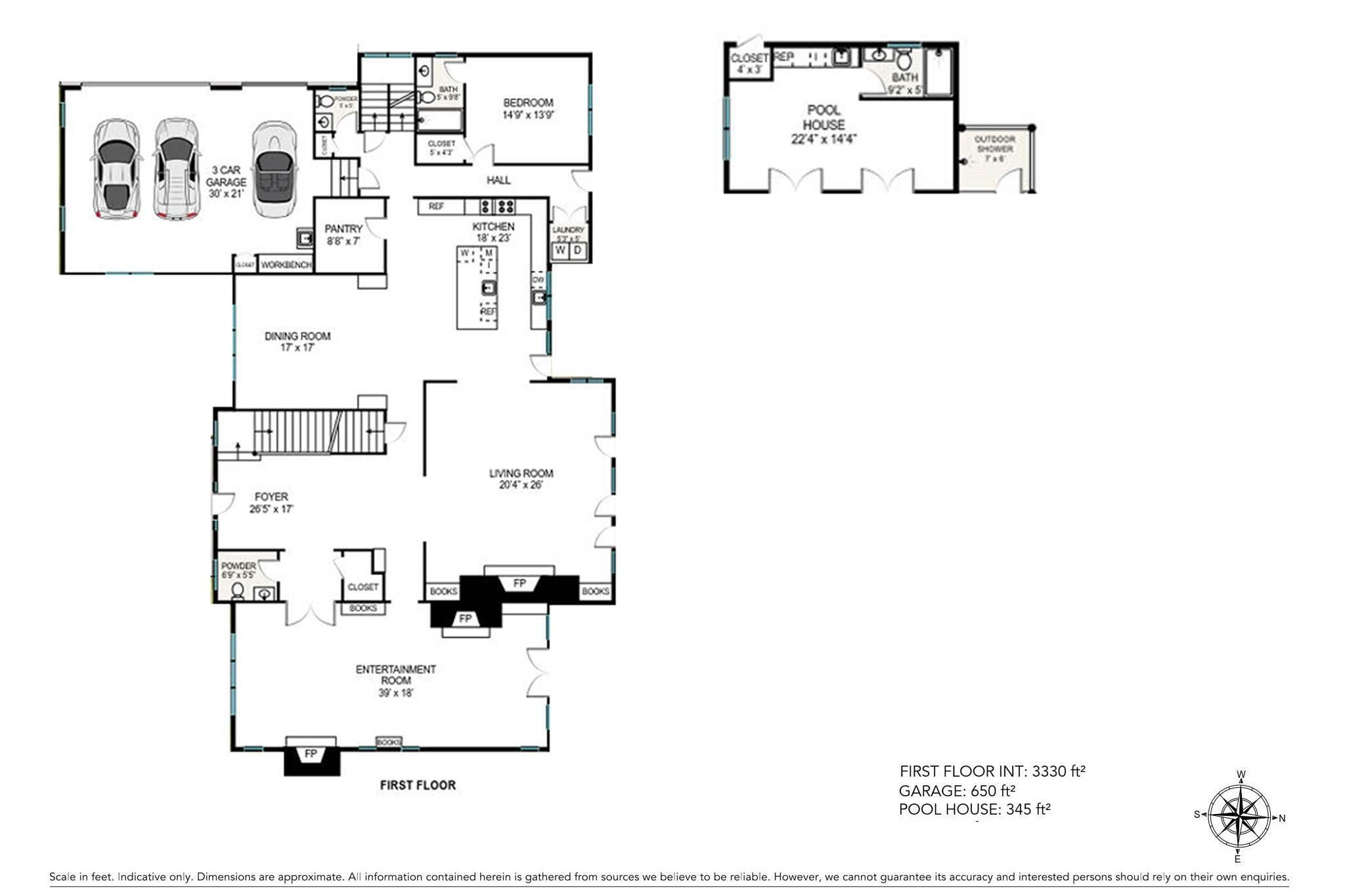 4. Single Family Homes for Sale at Southampton Village Elegance And Grace 3 Halsey Path, Southampton, Southampton Town, NY 11968