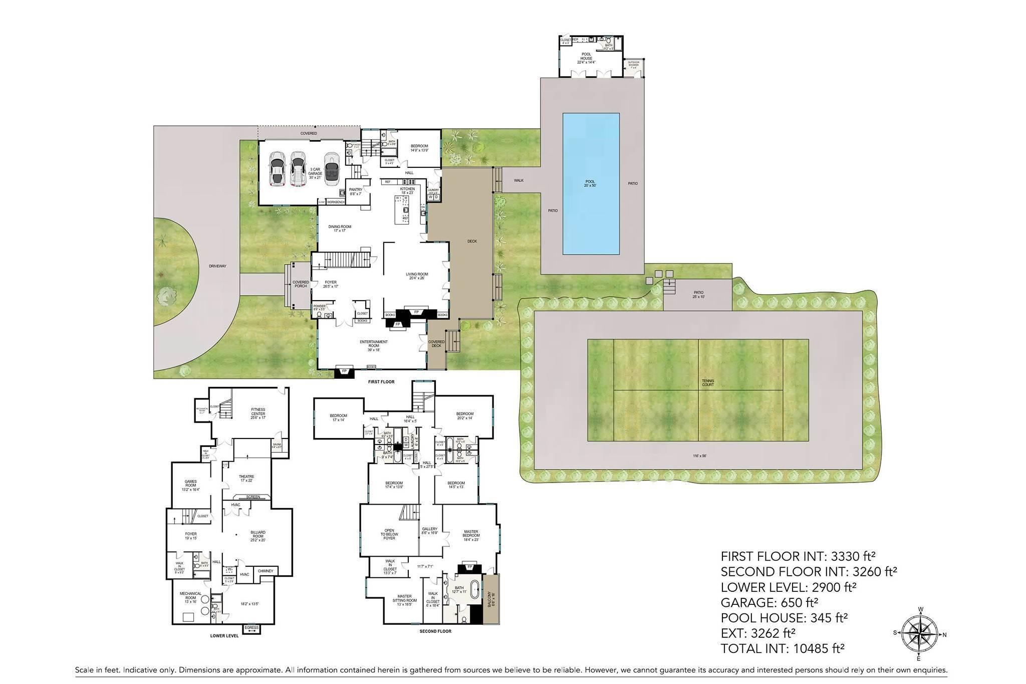 2. Single Family Homes for Sale at Southampton Village Elegance And Grace 3 Halsey Path, Southampton, Southampton Town, NY 11968