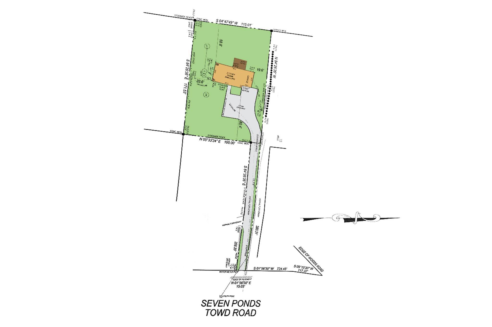 2. Single Family Homes for Sale at New Construction On Flag Lot With Room For Pool In Water Mill 479 Seven Ponds Towd Road, Water Mill, Southampton Town, NY 11976
