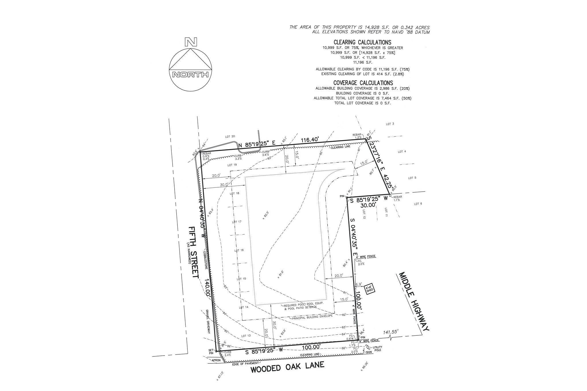 Land for Sale at East Hampton Building Lot 51 Wooded Oak Lane, East Hampton, East Hampton Town, NY 11937