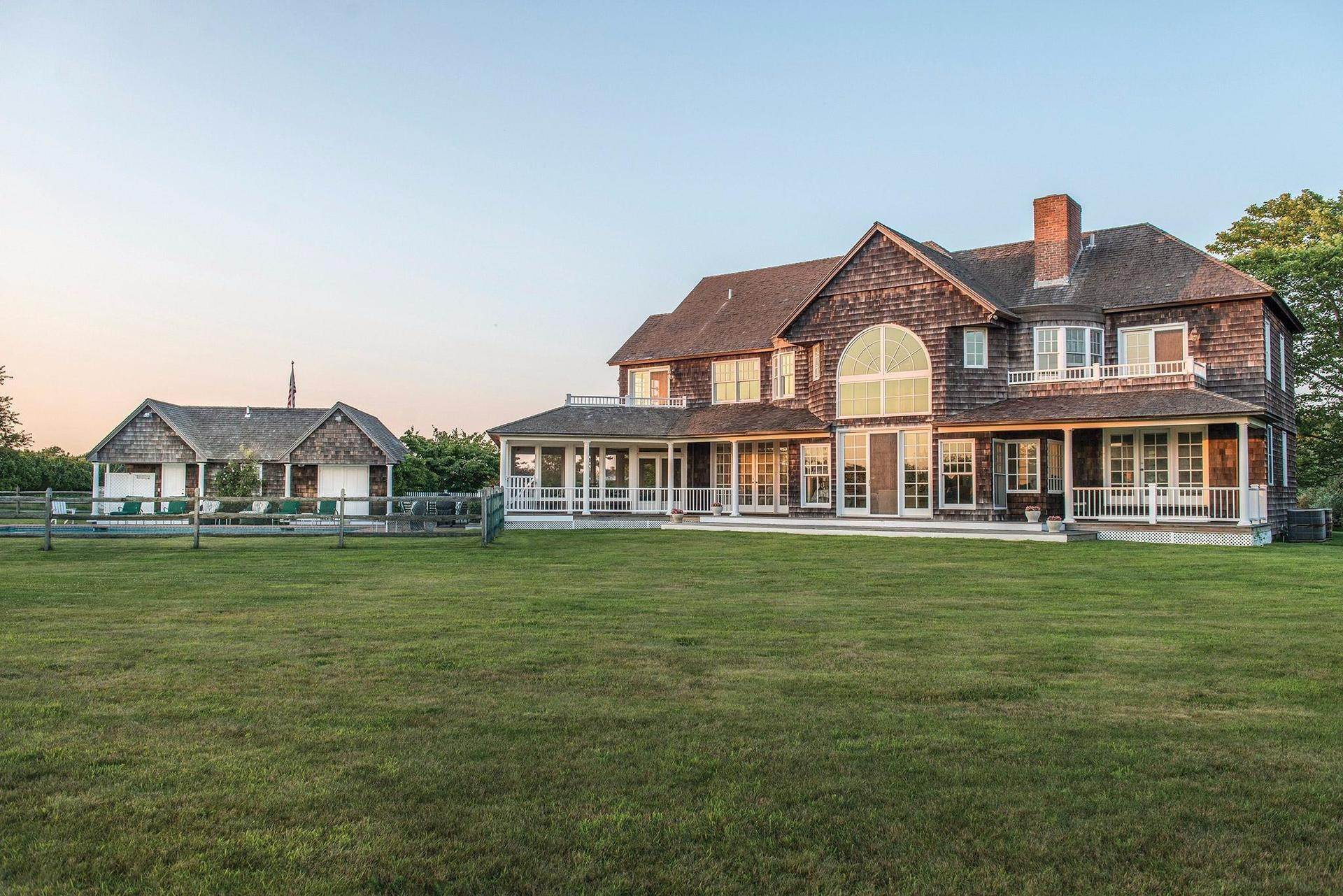 4. Single Family Homes for Sale at Prestigious Ocean Road 770 Ocean Road, Bridgehampton, Southampton Town, NY 11932