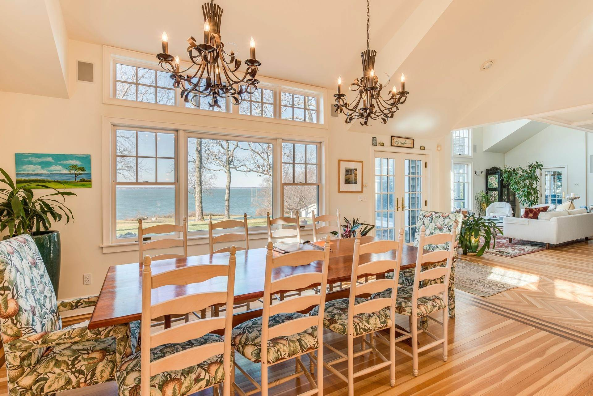 9. Single Family Homes at Sunset Vistas From Stunning Waterfront Home Sag Harbor, Southampton Town, NY 11963