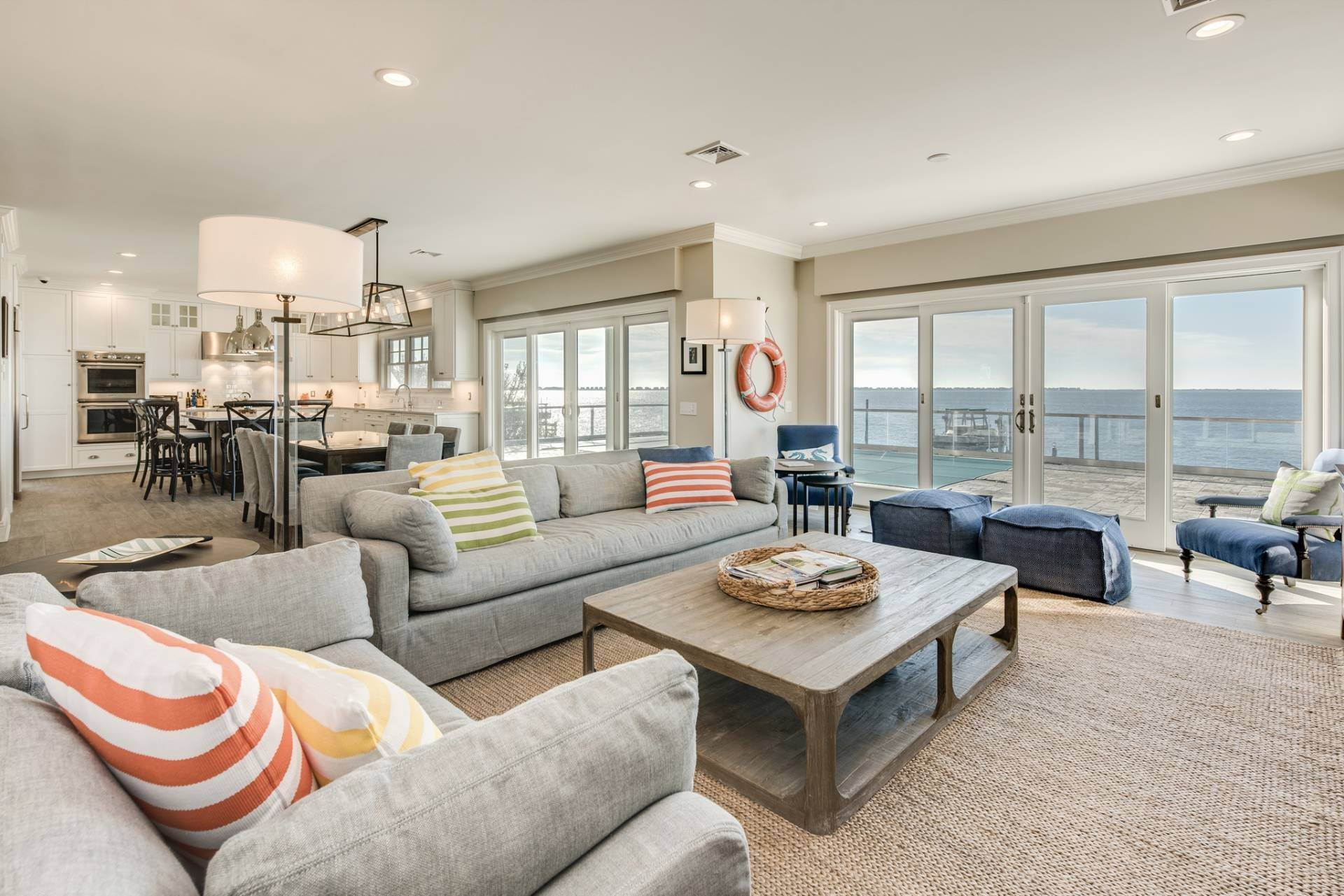 5. Single Family Homes at What A View! Gorgeous Summer Retreat--Sunsets, Pool & Boat Lift 9 Seatuck Lane, Remsenburg, Southampton Town, NY 11960