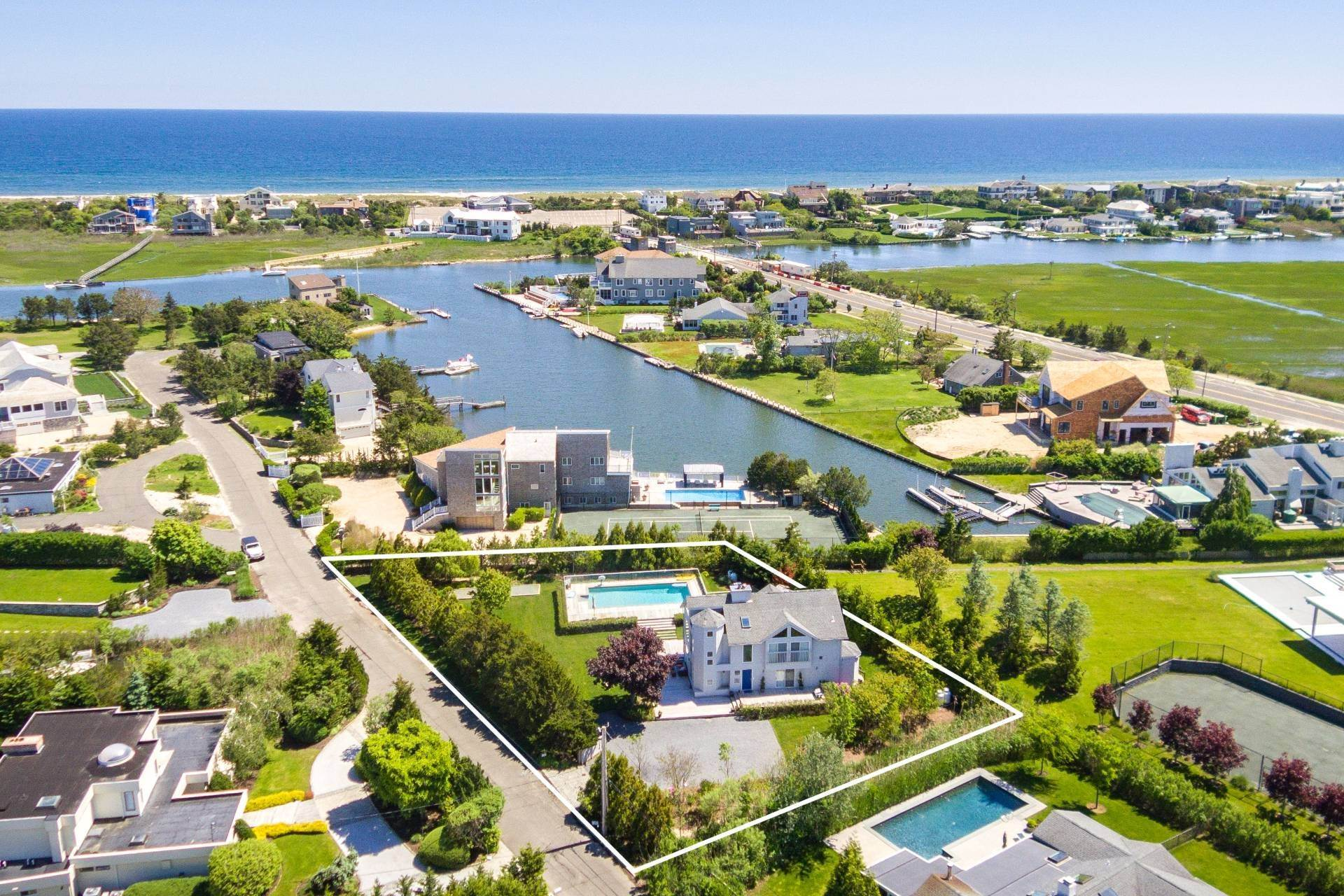 Single Family Homes for Sale at An Investment To Live In Westhampton Beach Village, Southampton Town, NY 11978
