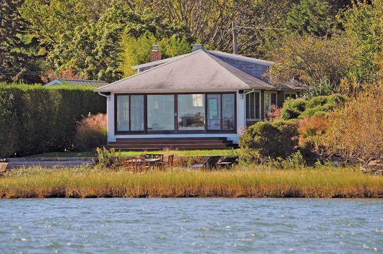 Single Family Homes at Stunning Waterfront Cottage Sag Harbor, Southampton Town, NY 11963