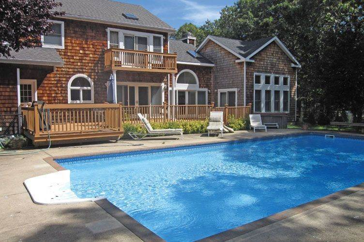 Single Family Homes at Pristine Post Modern With Pool And Basketball Quogue Village, Southampton Town, NY 11959